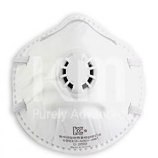 2급 밸브 부착 방진 마스크