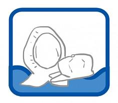 방진의류 세탁-방진모/두건
