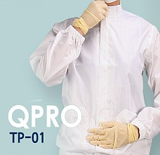 [QPRO] TP-01 방진복/제전복/무진복 투피스 C카라형 (미얀마산)