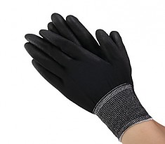 PALM COATING GLOVE BLACK 폴리에스터 PU 손바닥 코팅형 블랙 스타일
