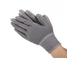 PALM COATING GLOVE BLACK 폴리에스터 PU 손바닥 코팅형 회색 스타일